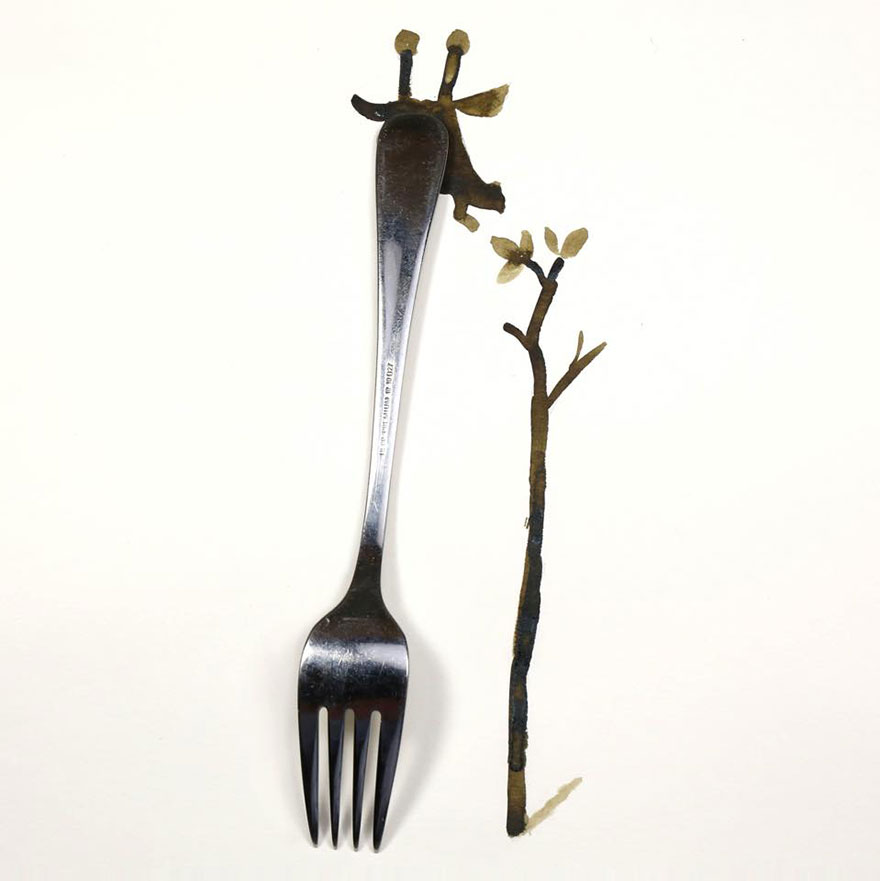 every day object illustration christopher niemann 3 20 Artistic Drawings Completed Using Everyday Objects